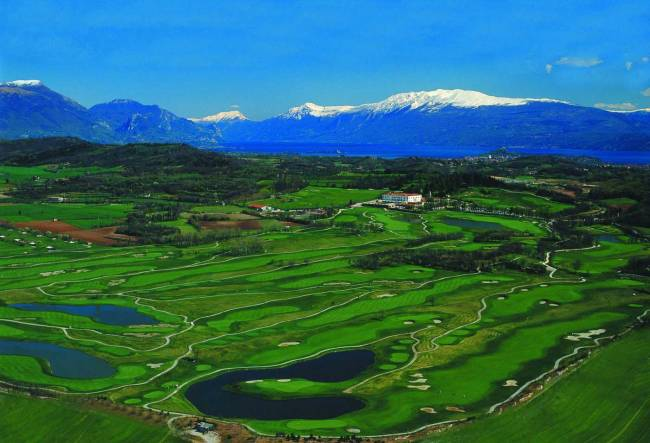 golf in northern Italy
