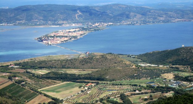 Orbetello Lagoon and golf Tuscany