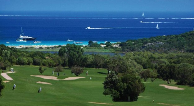 Pevero golf course in Sardinia